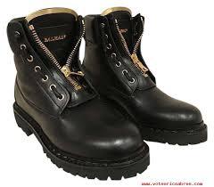 womens motorcycle boots sale balmain taiga ranger leather gold zipper biker moto 38 1275