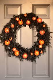 black feather wreath halloween 27 best orange christmas images on pinterest christmas ideas