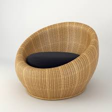 round wicker chair teamnacl
