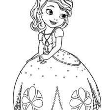 sofia the first coloring book all about coloring pages literatured