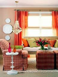 Orange Curtains For Living Room Wall Colors For Living Room U2013 100 Trendy Interior Design Ideas For