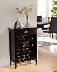 kitchen cabinets cherry finish amazon com kings brand dark cherry finish wood buffet wine rack