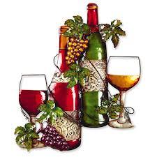 metal wine bottle garden wall art amazon co uk garden u0026 outdoors