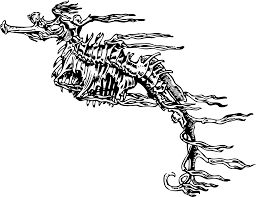 spooky skeleton png clipart fucus like seahorse