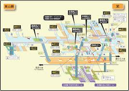 Subway Station Map by File Sakae Station Map Nagoya Subway U0027s Higashiyama Line 2014 Png