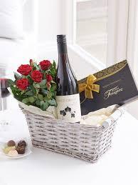 Wine And Chocolate Gift Baskets Luxury Red Wine Gift Basket Interflora