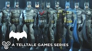 batman costumes telltale u0027s batman top 5 batman costumes to include youtube