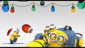 minions christmas desktop wallpapers hd wallpapers gifs