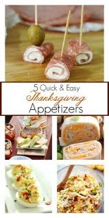 20 easy thanksgiving appetizer recipes to get the started