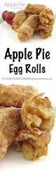 apple pie egg rolls spend with pennies
