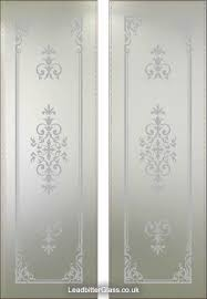 etched glass doors 12 best beveled stain glass shower doors images on pinterest