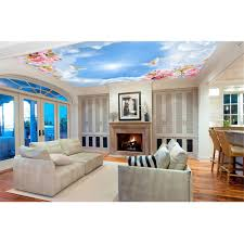 custom photo murals diy ceiling wallpaper living room non woven