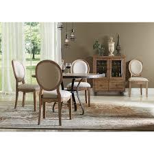 riverside sherborne oval back upholstered side dining chairs set