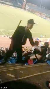miami fan slaps officer video footage shows vietnamese police officer slapping a woman at a