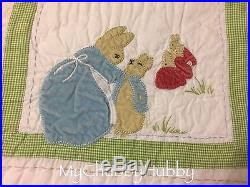 Peter Rabbit Pottery Barn Eeuc Pottery Barn Kids Beatrix Potter Crib Toddler Quilt Peter