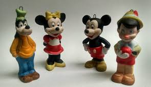 disney figurines mickey mouse minnie mouse goofy pinocchio