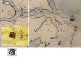 13 Colonies Map Blank by The Roanoke Island Colony Lost And Found The New York Times
