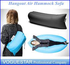 hangout air inflating sleeping bags lamzac hammock outdoor hangout