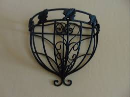 Wrought Iron Wall Planters by 29 Best Images About Wrought Iron Wall Design Leaf Leaf Design