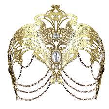 mardi gras mask and coxeer masquerade mask metal venetian mask