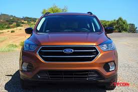 Ford Escape Blue - vehicles on vacation summer road trip with the 2017 ford escape
