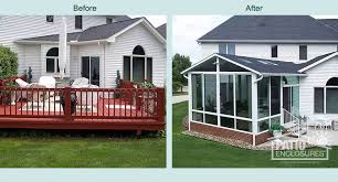 Sunrooms For Decks Sunroom Addition Cost