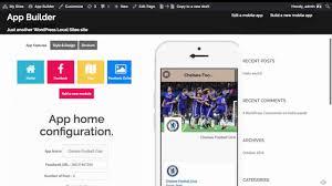 mobile app builder for wordpress sneak peek youtube