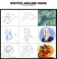 Threesome Memes - expression meme ft blue donkey by lyriyale on deviantart