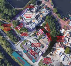 Epcot Center Map Breaking Permit Filed For Rumored Ratatouille Ride In France At