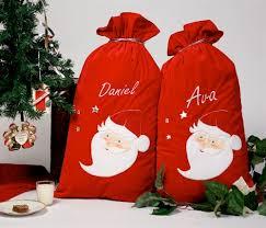 personalised luxury santa sack
