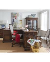 Office L Desk Clinton Hill Cherry Home Office L Shaped Desk Created For Macy S