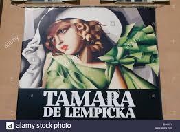 tamara de lempicka poster stock photos u0026 tamara de lempicka poster