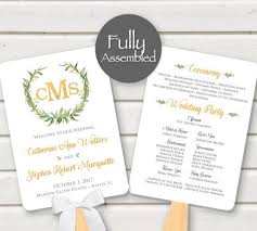 Wedding Program Paddle Fan Template 182 Best Wedding Images On Pinterest Signage Monitor And Card Stock