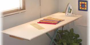 quilting ironing board table an ironing board like a table for quilting is bliss quilting cubby