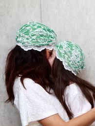 lace headwear baby cerise lace headwear bonnesque