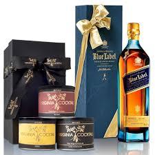 scotch gift basket johnnie walker blue label blended scotch whisky gift set 750ml