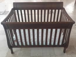 Babi Italia Hamilton Convertible Crib Chocolate by Baby Europa Crib Cribs Decoration