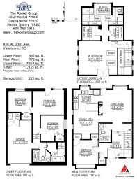 bc floor plans 876 west 23rd avenue cambie vancouver west r2182142