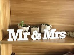 mr and mrs sign for wedding hot wedding reception sign solid wooden letters mr mrs table