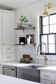 100 white backsplash tile for kitchen brick kitchen