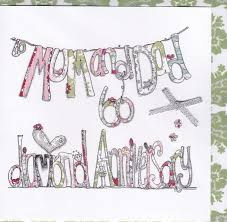 and wedding anniversary card karenza paperie