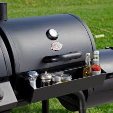 Char Griller Pro Deluxe Charcoal Grill by Char Griller Trio Gas Charcoal Smoker Grill Hayneedle