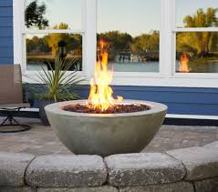 Linear Fire Pit by New Fire Table Products For 2016 Official Outdoor Living Blog