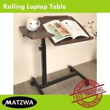 adjustable movable laptop table movable laptop table over bed side sofa hospital adjustable height