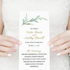 wedding menu template wedding menu printable template greenery wedding style connie