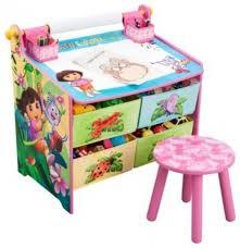 kid art table with storage klyazma