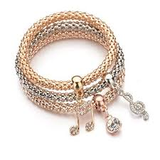 fashion jewelry charm bracelet images Shining diva fashion jewellery gold crystal charm bracelets for jpg