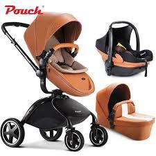 siege auto pliant 2017 pouch bébé poussette 3 en 1 suspension chariot pliant enfant