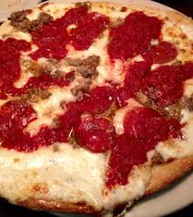 sauce boursin cuisine boursin cheese sauce garlic fennel sausage pepperoni topped