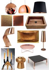 interiors trend copper housetrained homes interiors domestic